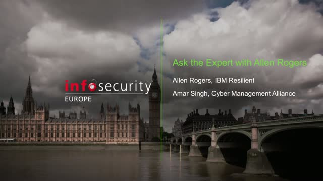 Ask the Expert with Allen Rogers