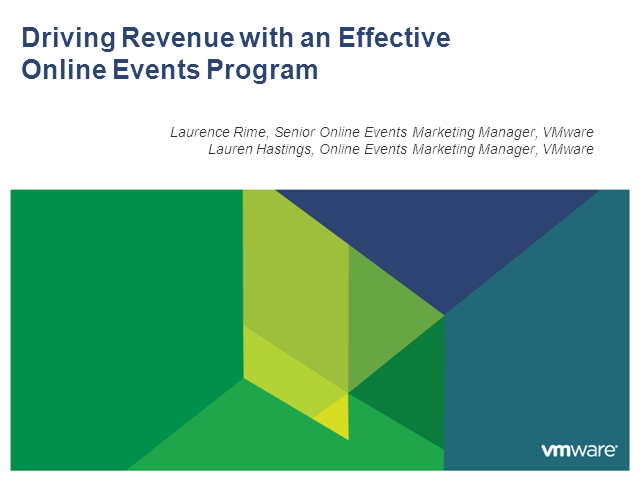 Driving Revenue with an Effective Online Events Program