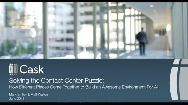 Solving the Contact Center Puzzle