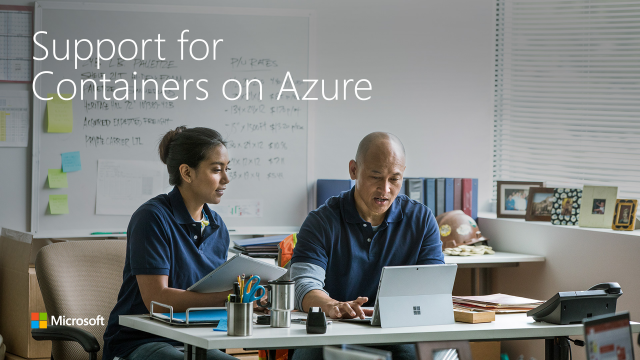 Support for Containers on Azure