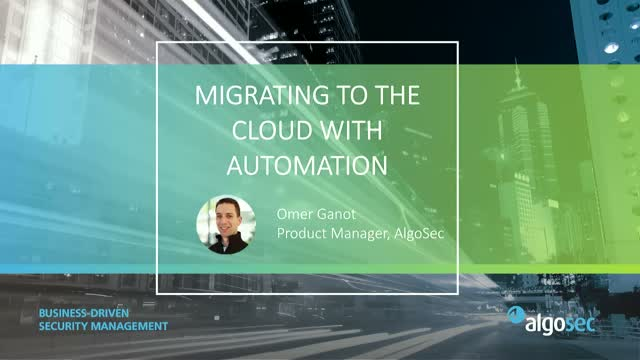 Migrating to the Cloud with Automation