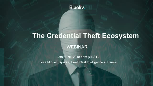 The Credential Theft Ecosystem Report