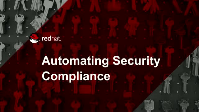 Automating Security Compliance with Ease