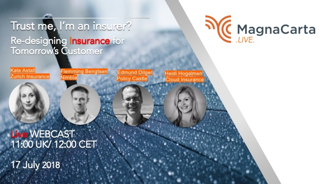 WEBCAST: Trust me I'm an Insurer? Re-designing insurance for tomorrow's customer