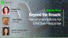 Beyond the Breach: Recommendations for Effective Response
