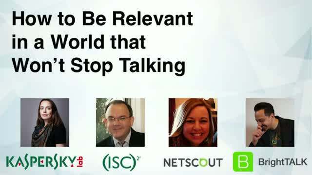 How to Be Relevant in a World that Won't Stop Talking