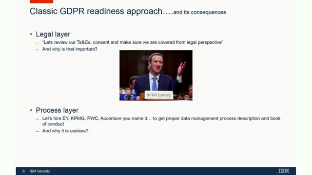 The most painful way to implement GDPR