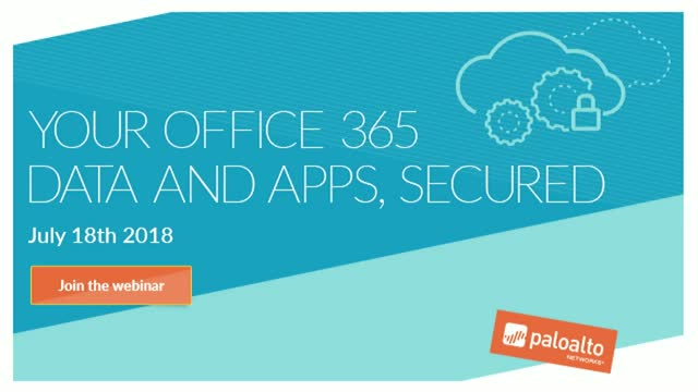 Your Office 365 data & apps secured