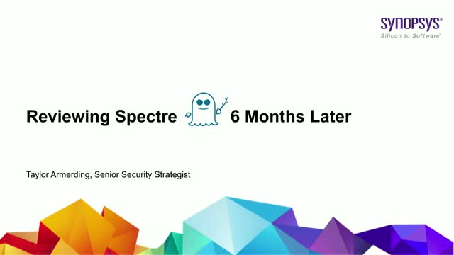 Reviewing Spectre 6 Months Later