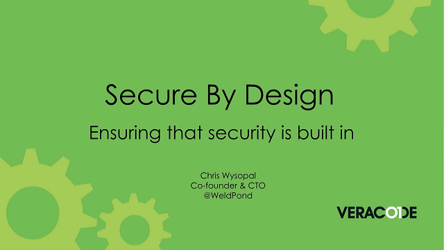 How to Ensure Your Applications are Secure by Design