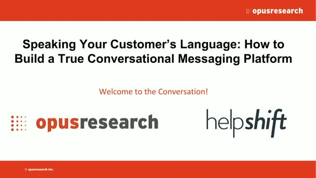 How to Build a True Conversational Messaging Platform