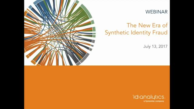 The New Era of Synthetic Identity Fraud
