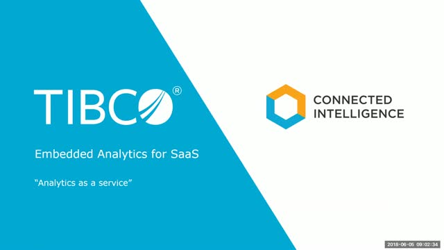 """Embedded Analytics for SaaS: """"Analytics as a Service"""""""