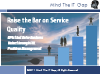 Raise the Bar on Service Quality: KPIs that Drive Value