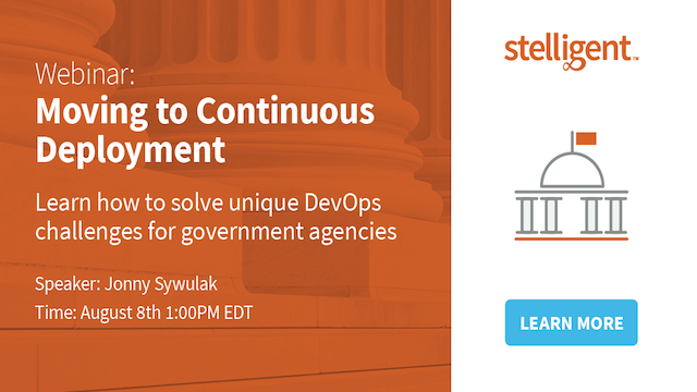 Moving to Continuous Deployment in Government