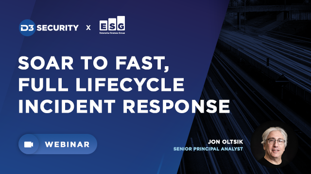 SOAR Like An Eagle: The Key to Fast, Full-Lifecycle Incident Response