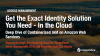 2/3 Get the Exact Identity Solution You Need - In the  Cloud - Deep Dive