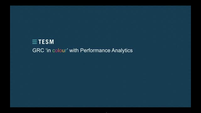 GRC in Colour with Performance Analytics