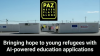 Bringing hope to young refugees with AI-powered education applications: Paz.ai