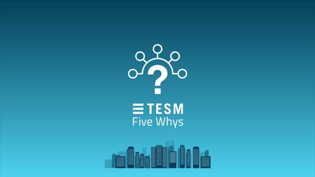 TESM's Five Whys for problem management