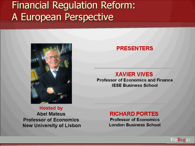 A European Perspective on Financial Regulation after the Crisis