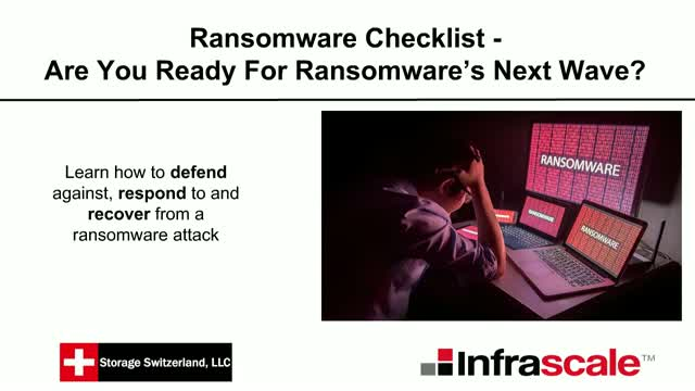 Ransomware Checklist - Are You Ready For Ransomware's Next Wave?