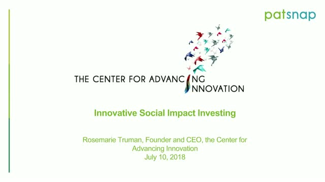How to accelerate your innovation pipeline using Social Impact Investments