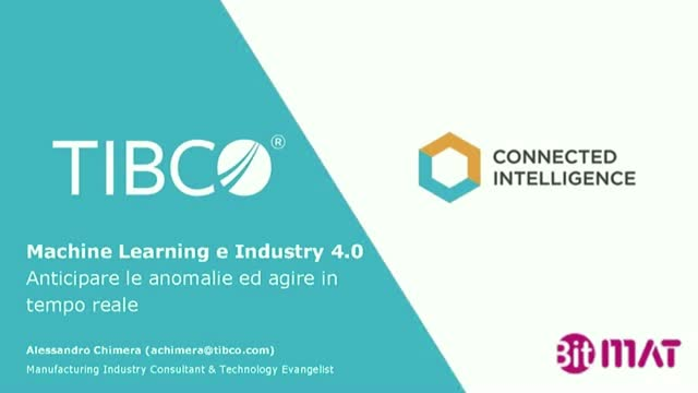 Machine Learning e Industry 4.0, la nuova predictive maintenance