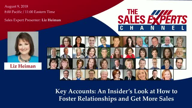 Key Accounts: An Insider's Look at How to Foster Relationships and Get More Sale