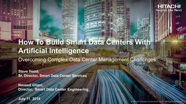 How To Build Smart Data Centers With Artificial Intelligence