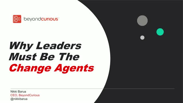 Why Leaders Must Be the Change Agents