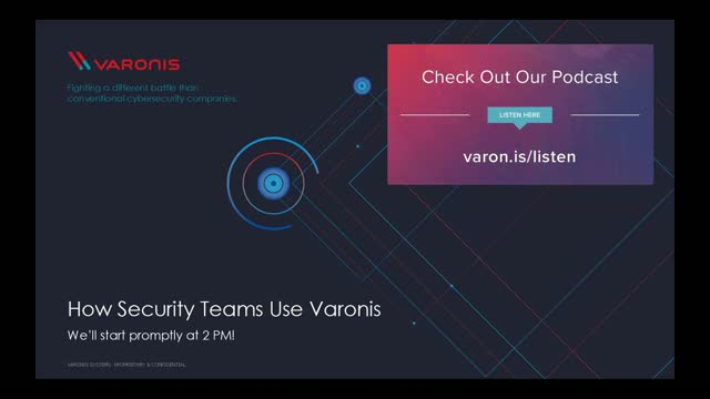 How Security Teams Use Varonis