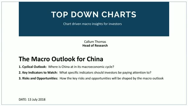 The Macro Outlook for China
