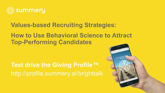 Values-Based Recruiting Strategies