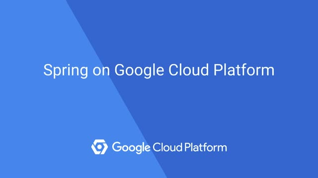 Spring on Google Cloud Platform