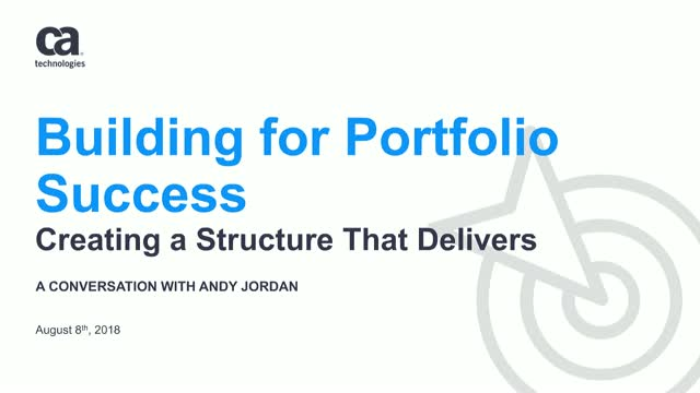 Building for Portfolio Success