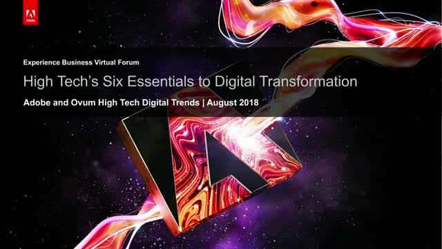 High Tech's Six Essentials to Digital Transformation