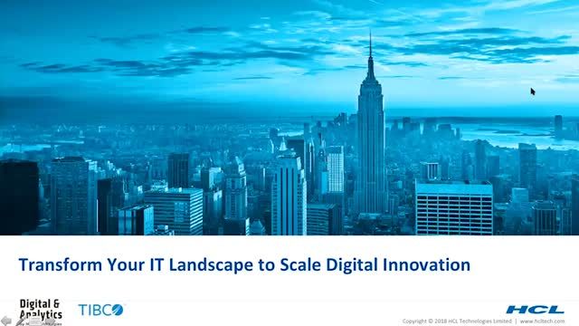 T-Mobile + HCL + TIBCO: Transform Your IT Landscape to Scale Digital Innovation
