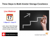 Three Steps to Multi-Vendor Storage Excellence