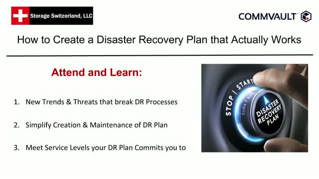 How to Create a Disaster Recovery (DR) Plan that Actually Works