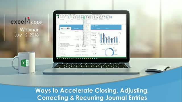 Ways to Accelerate Closing, Adjusting, Correcting & Recurring Journal Entries