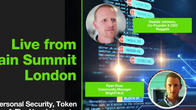 Live from Blockchain Summit London: Nuggets' Alastair Johnson