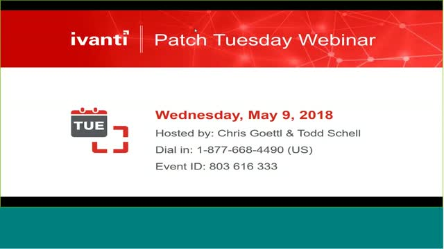 May 2018 Patch Tuesday Analysis