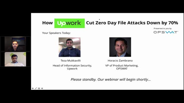 How Upwork Eliminated Zero-Day File Attacks with MetaDefender