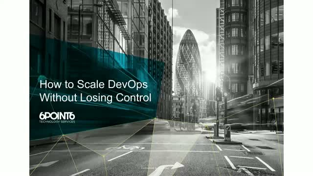 How to Scale DevOps Without Losing Control