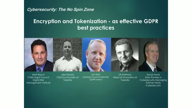 Encryption & Tokenization as Effective GDPR Best Practices