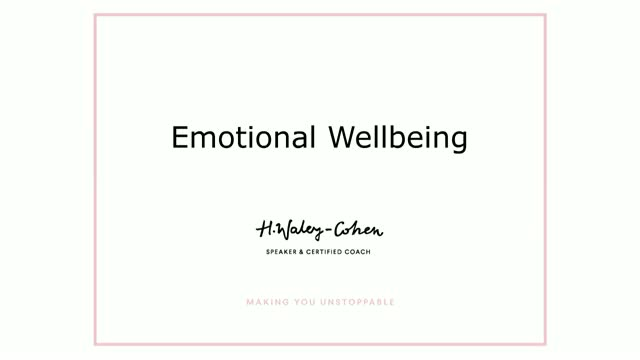 BrightTALK Masterclass Series: Emotional Wellbeing and Emotional Intelligence