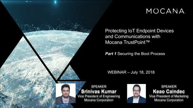Protecting IoT Endpoint Devices and Communications – Mocana TrustPoint