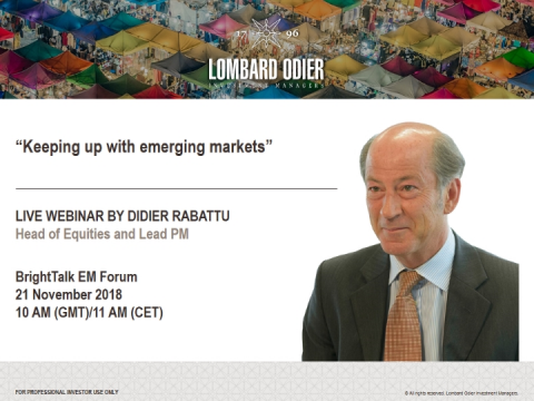Keeping up with emerging markets