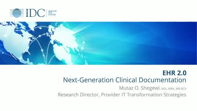 EHR 2.0: Next-Generation Clinical Documentation